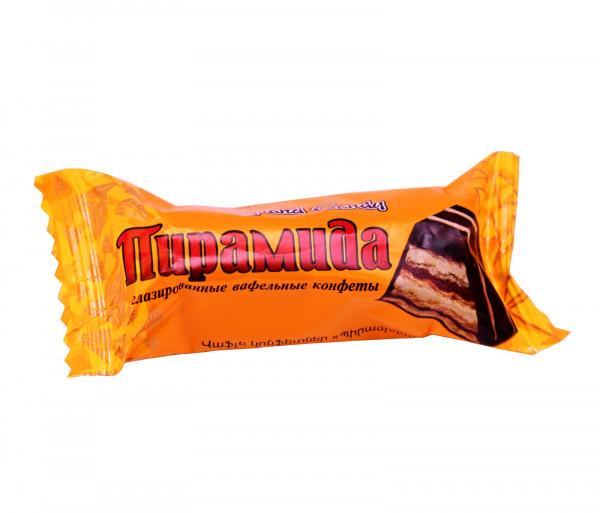 Վաֆլե կոնֆետներ «Պիրամիդա» Grand Candy