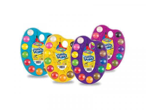 Ջրաներկերի հավաքածու Colorino Kids 15660PTR 12 գույն