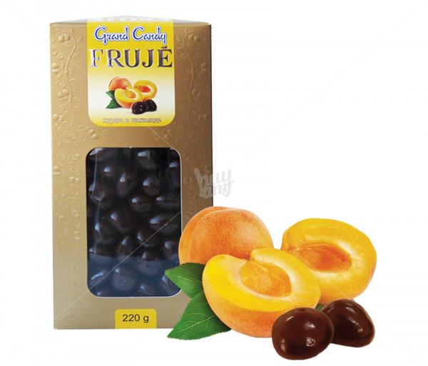 Դրաժե «Ֆրուժե» շոկոլադապատ ծիրանաչիր Grand Candy