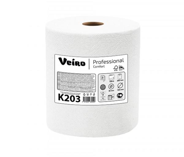 Paper towel in rolls Veiro Professional K203