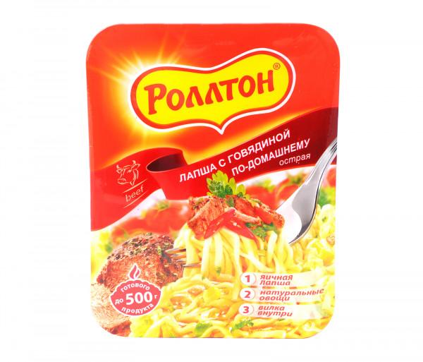 Ռոլլտոն Լապշա Կծու / Տավարի միս 90գ