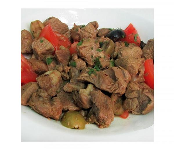 Գառան միս ձիթապտղով և լոլիկով Լա Քուչինա
