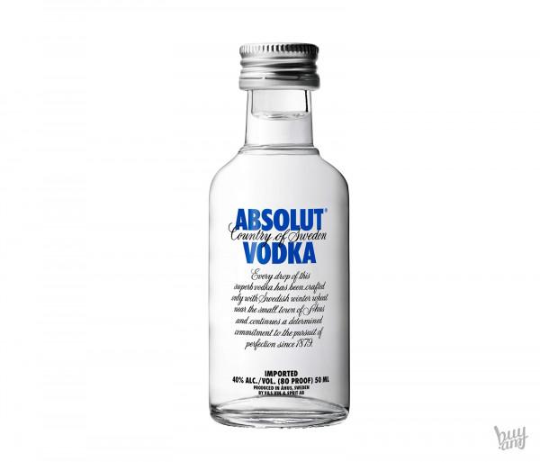 Vodka Absolut Vodka 50ml