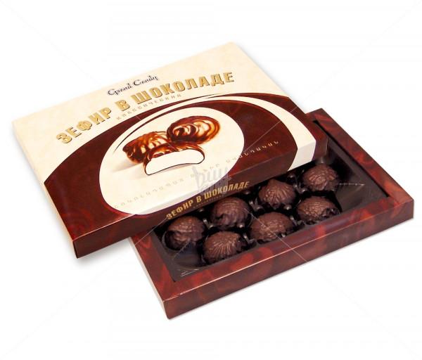 Կոնֆետների ընտրանի «Շոկոլադապատ զեֆիր» Grand Candy