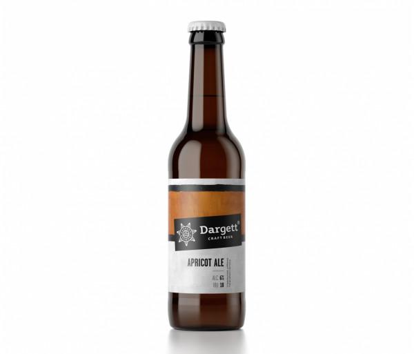 Գարեջուր «Apricot Ale» 0.33լ Dargett