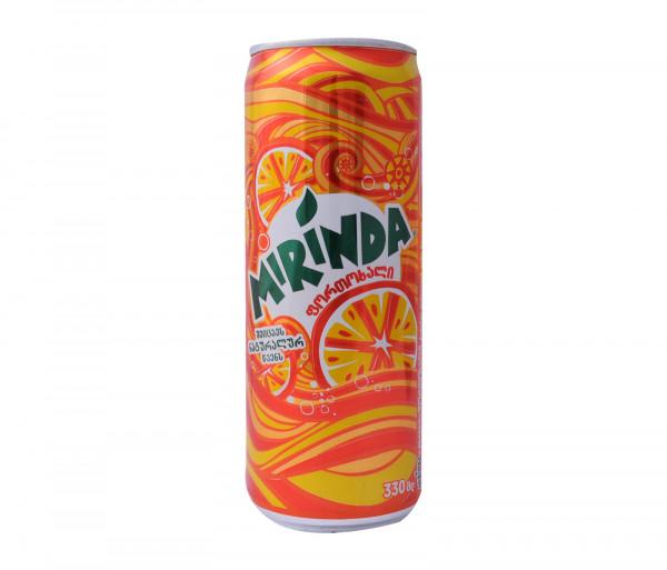 Միրինդա Գազավորված ըմպելիք Նարինջ 0.33լ
