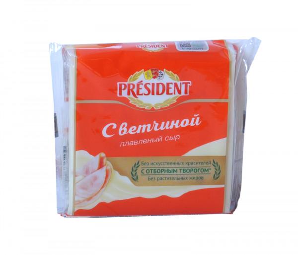 Պրեզիդենտ Հալած պանիր խոզապուխտով 40% 150գ