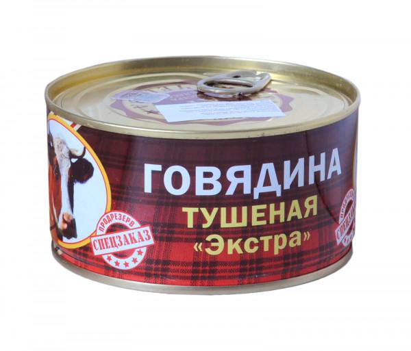 Բարս Տավարի շոգեխաշած միս 325գ