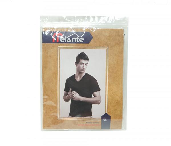 Մելանտե Տղամարդու շապիկ Սուր կտրվածքով Սև 9210354
