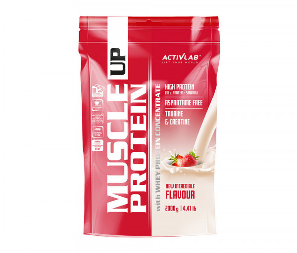 Muscle UP Protein 2000g Strawberry