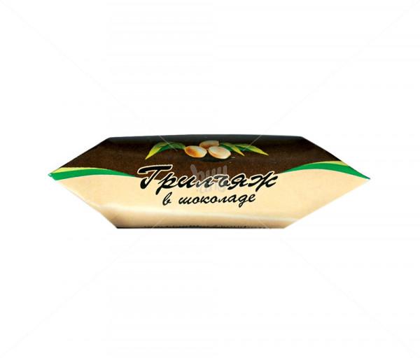 Պրալինե միջուկով կոնֆետներ «Շոկոլադապատ գրիլյաժ» Grand Candy