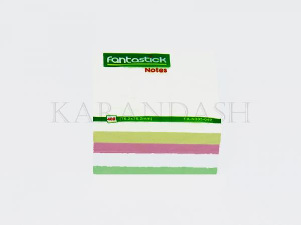 Թուղթ նշումների Fantastick FK N303 04P