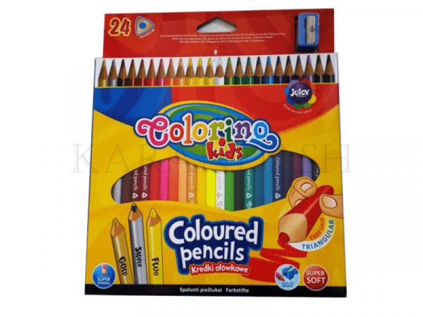 Մատիտներ գունավոր Colorino 57462PTR