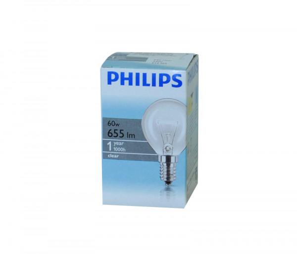 Ֆիլիպս Լամպ Ստանդարտ 60w E14 230v P45 Cl