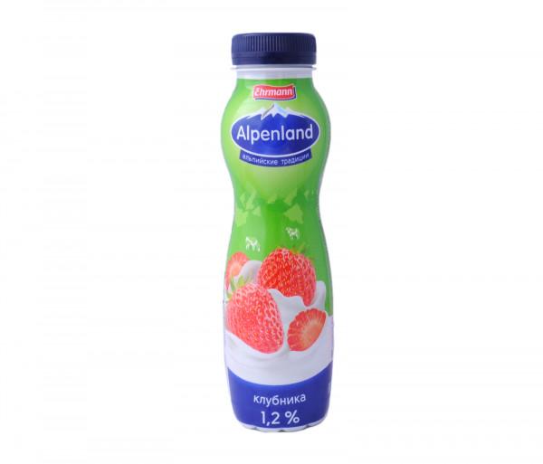 Alpenland Drinking Yogurt Strawberry 1.2% 290g