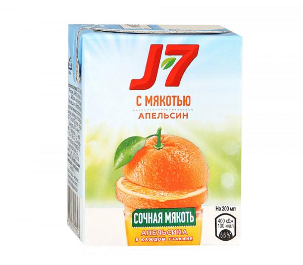 Բնական հյութ «J7» (նարինջ) 0.2լ