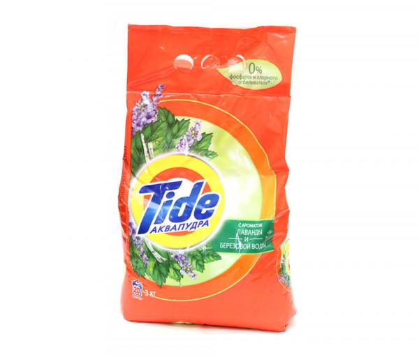 Թայդ Ավտոմատ Լվացքի փոշի լավանդայի և կեչու ջրի բույրով 3կգ