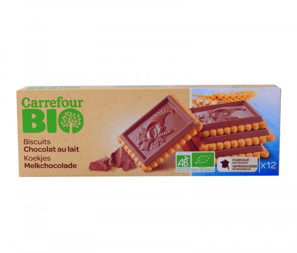 Քարֆուր Բիո Կաթնային Շոկոլադով Թխվածքաբլիթներ 150գ