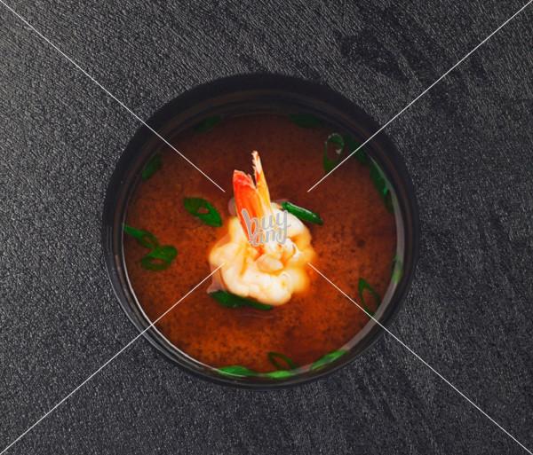 էբի Թաի ապուր AKO Sushi