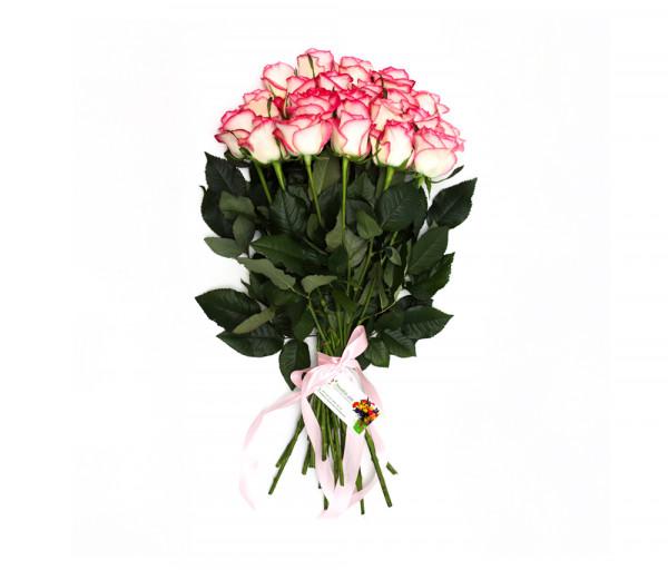 21 վարդագույն վարդով ծաղկեփունջ Anahit