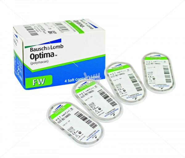 Կոնտակտային լինզաներ (1 հատ) «Optima» Bausch & Lomb
