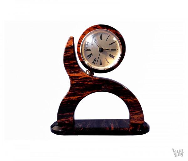 Սեղանի ժամացույց օբսիդիան «Ալիք»