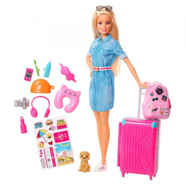 Տիկնիկ հավաքածու Ճանապարհորդ Barbie