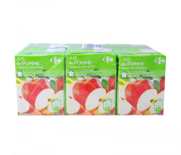 Քարֆուր Բնական հյութ Խնձոր 6x0.2լ