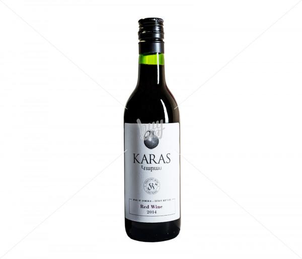 Գինի «Karas Classic» (կարմիր, չոր) 187մլ