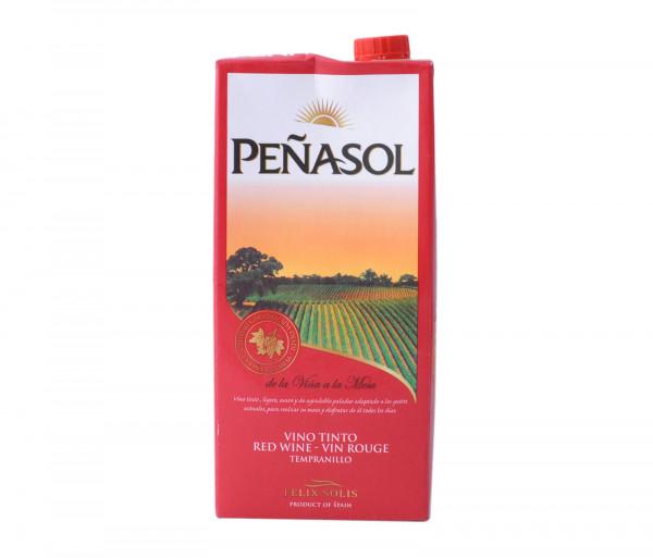 Քարֆուր Պենեսոլ Իսպանական կարմիր անապակ գինի 1լ