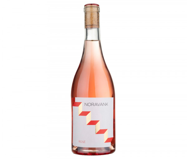 Grape wine Noravank rose, dry Maran Winery