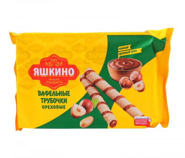 Յաշկինո Վաֆլե Ձողիկներ Ընկույզով 190գ