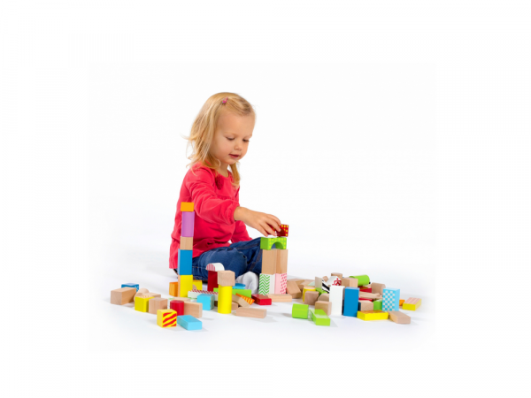 Simba Eichhorn Կառուցողական Փայտե Խաղալիքների Հավաքածու
