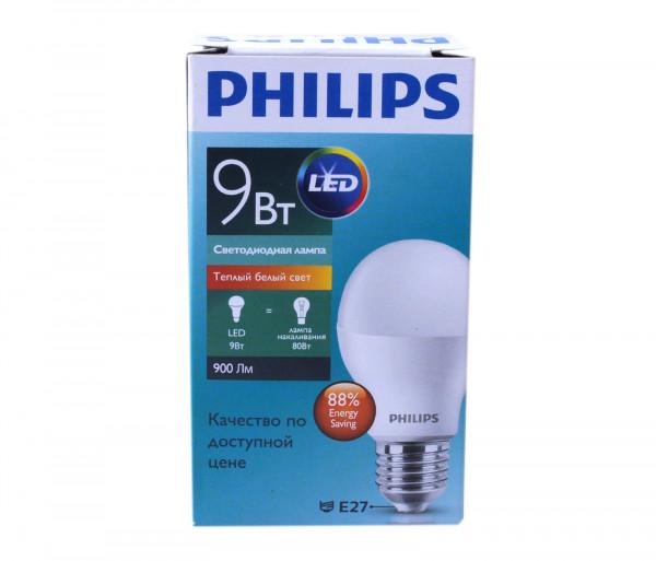 Ֆիլիպս Լեդ Լամպ 9-80w E27 3000k