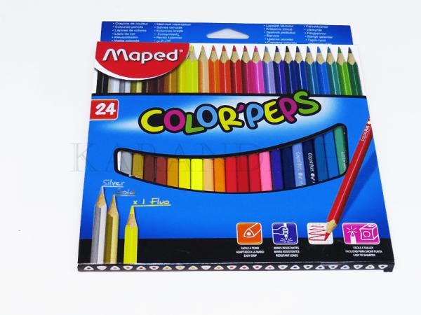Մատիտներ գունավոր Maped Color peps FR18322411