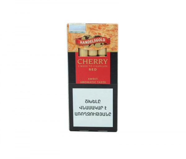 Սիգարելա Handelsgold Cherry Wood Tip Red 5