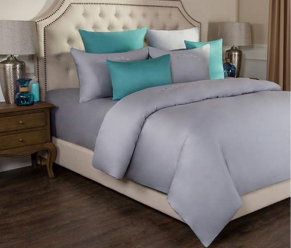 Անկողնու հավաքածու Евро Богема Серый