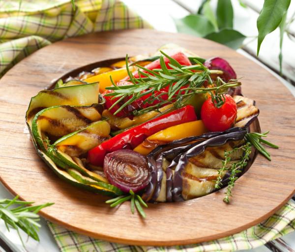 Գրիլ արված բանջարեղեն Անտառային Ձայներ