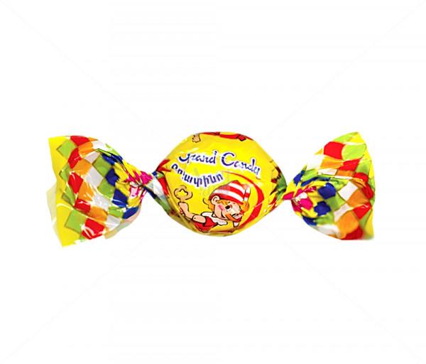 Պոմադային միջուկով կարամել «Բուրատինո» Grand Candy