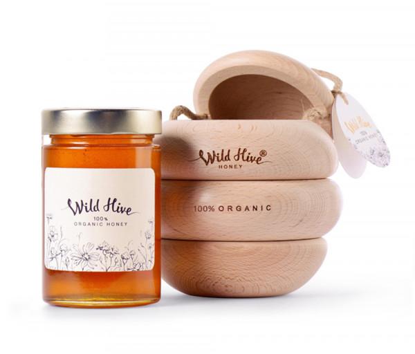 Wild Hive Organic Honey 430g
