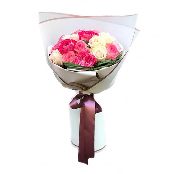 Ծաղկեփունջ «Día feliz» My Rose