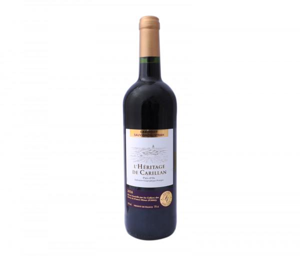 Քարֆուր Կարմիր գինի Կաբերնե Սովինյոն Հերիտաժ 0.75լ