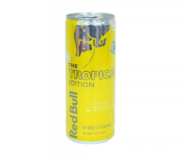 Ռեդ Բուլլ Էներգետիկ ըմպելիք Արևադարձային մրգերի համով 250մլ