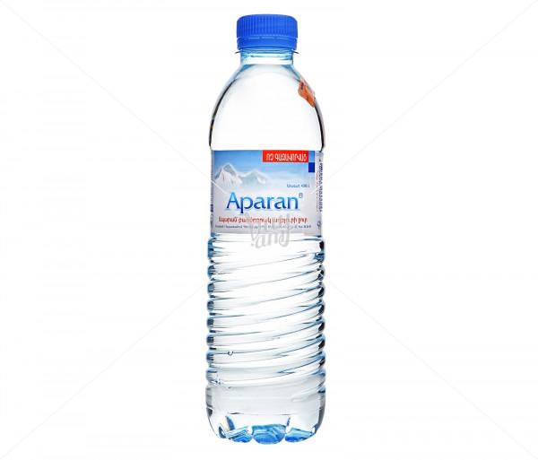 Աղբյուրի ջուր «Ապարան» 0.5լ