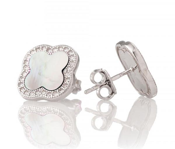 Silver earrings SE208NW