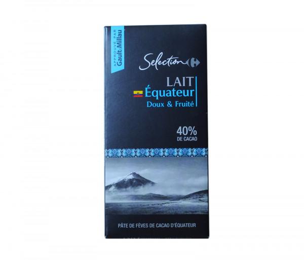 Քարֆուր Սալիկ Կաթնային շոկոլադ 44% 100գ