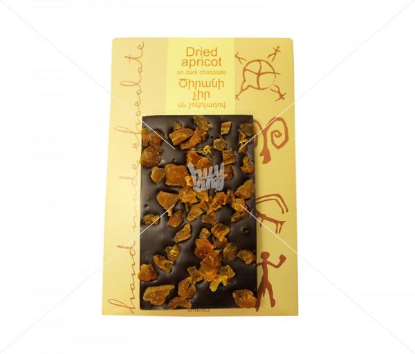Շոկոլադե սալիկ (ծիրանաչրով) Gourmet Dourme
