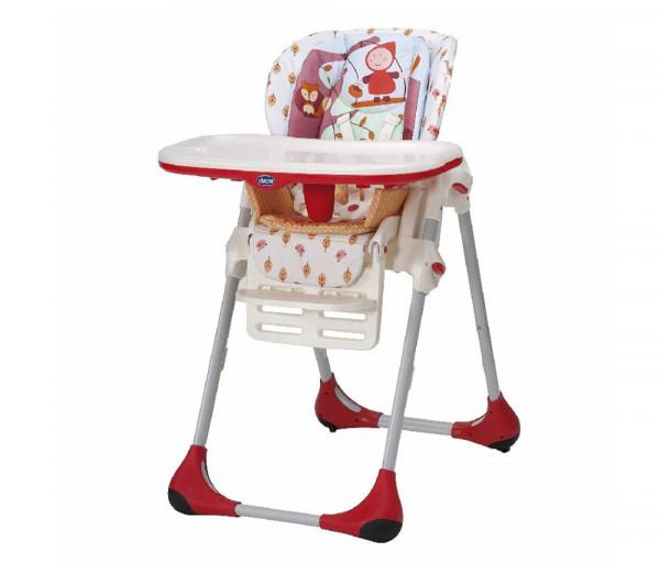 Կերակրման աթոռ Polly 2 in 1, 6 ամսական+, Մինչև 15 կգ Կարմիր, սպիտակ 087631CH