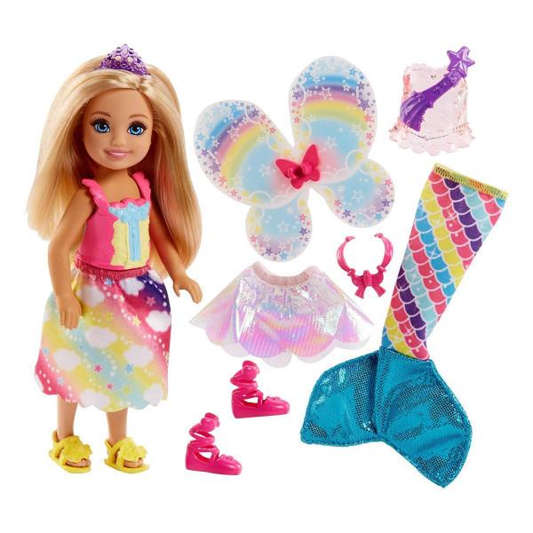Տիկնիկ հավաքածու Barbie Dreamtopia Chelsea