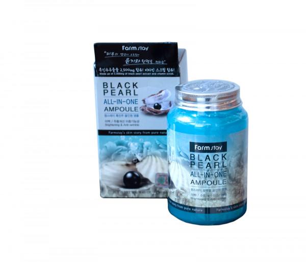 Դեմքի խոնավեցնող գել «Black pearl All-in-one ampoule» Farm Stay 250մլ